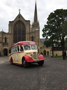 Shetland Coach Trip - 11th June 2017 - BBC 1 Breakfast Filming at Norwich Cathedral