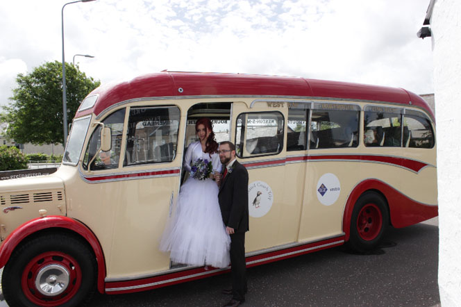 Bride at Gretna Green