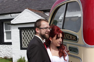 The Happy Couple at Gretna Green