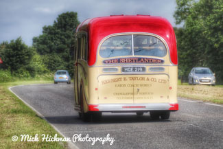 Photo by Mick Hickman Photography of the Coach approaching Bawtry