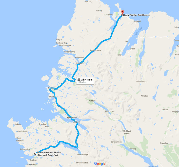 Shetland Road Trip - June 2017 - Route Day Nine