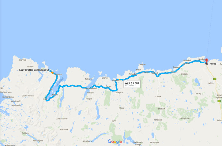 Shetland Road Trip - June 2017 - Route Day Ten