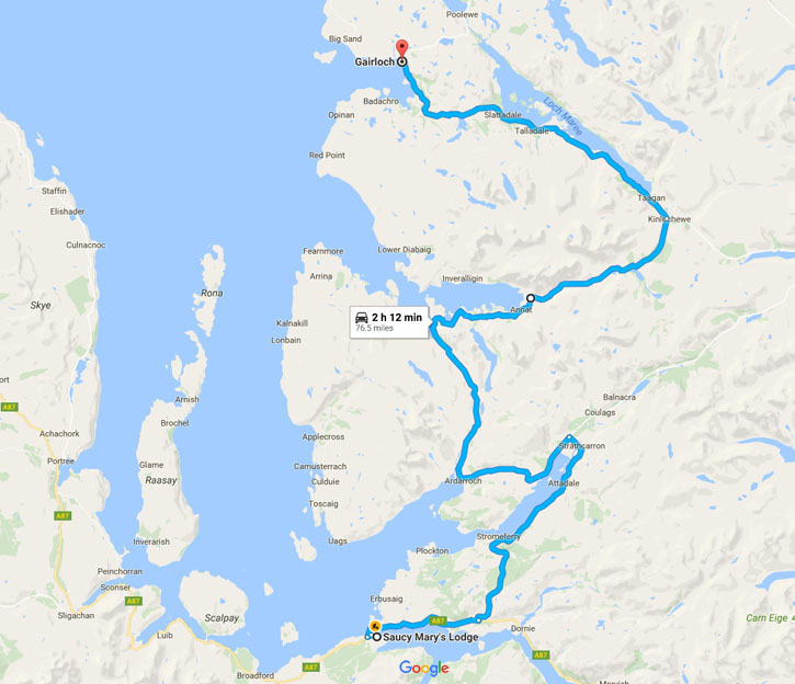 Shetland Road Trip - June 2017 - Route Day Seven